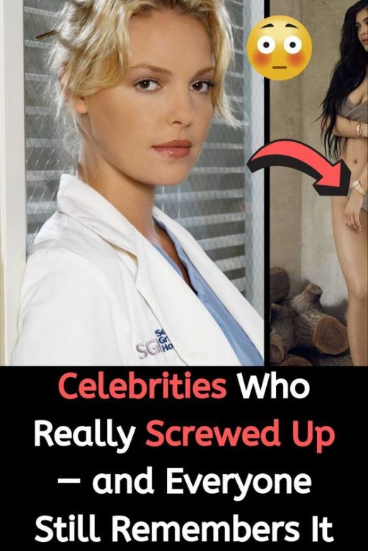 Celebrities Who Really Screwed Up — and Everyone Still Remembers It