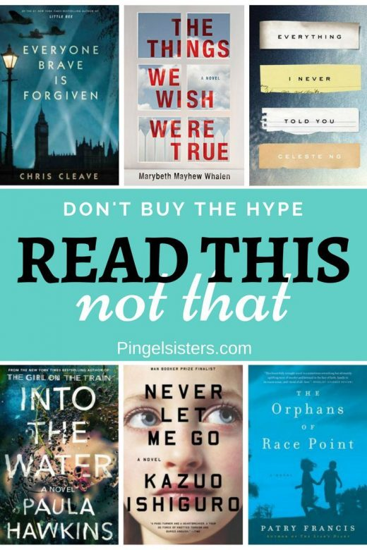 Don't Buy the Hype. Read This Not That.