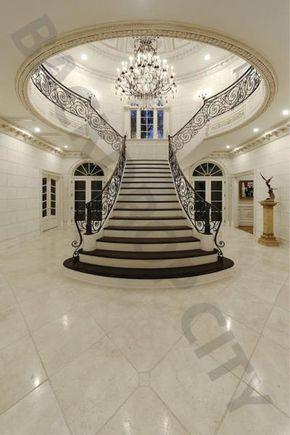 Elegant Ivory Stair Backdrop