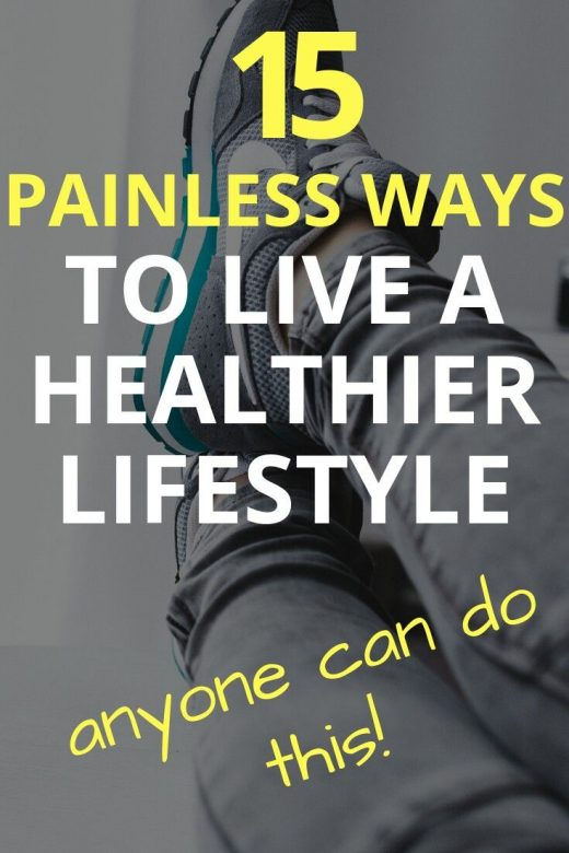 Lifestyle changes you can easily make
