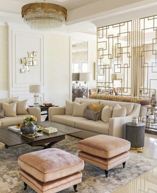 Making Your Living Room Look and Feel More Luxurious