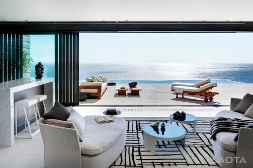 Nettleton 198 in Cape Town by SAOTA: Contemporary Modern Mansion