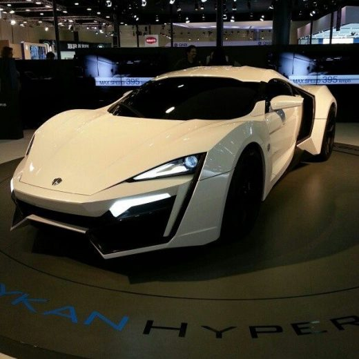 One of the most expensive Supercars in the World – The Lykan Hypercar