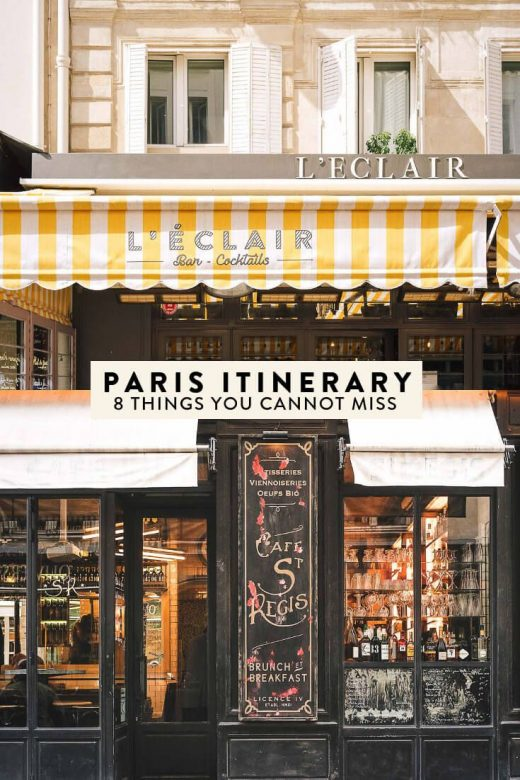 Paris Itinerary: 8 Things You Absolutely Cannot Miss