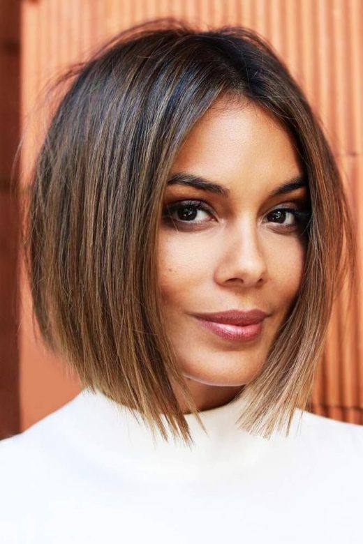 Short Haircuts For Oval Faces Will Put An End To Your Troubles