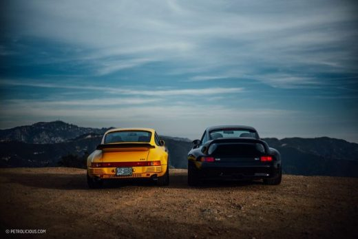 Spending A Rough Day At The Office With A Pair Of RUF CTR Supercars