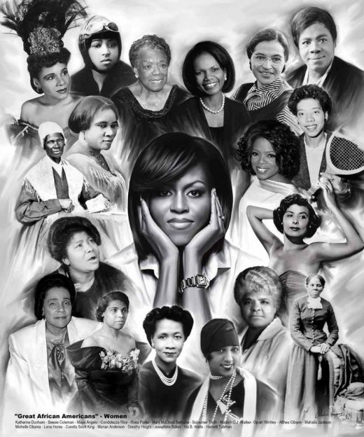 Terrific African American Women of all ages