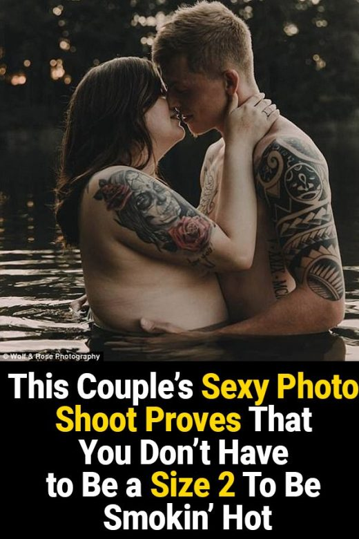 This Couple's Sexy Photo Shoot Proves That You Don't Have to Be a Size 2 To Be Smokin' Hot