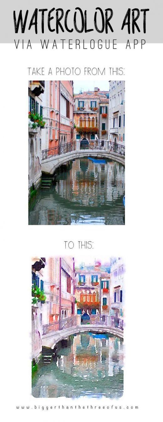 Watercolor Travel Art