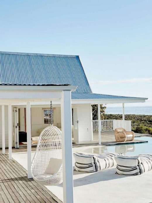 White Beach House In Grotto Bay, South Africa (Debra @DustJacket)