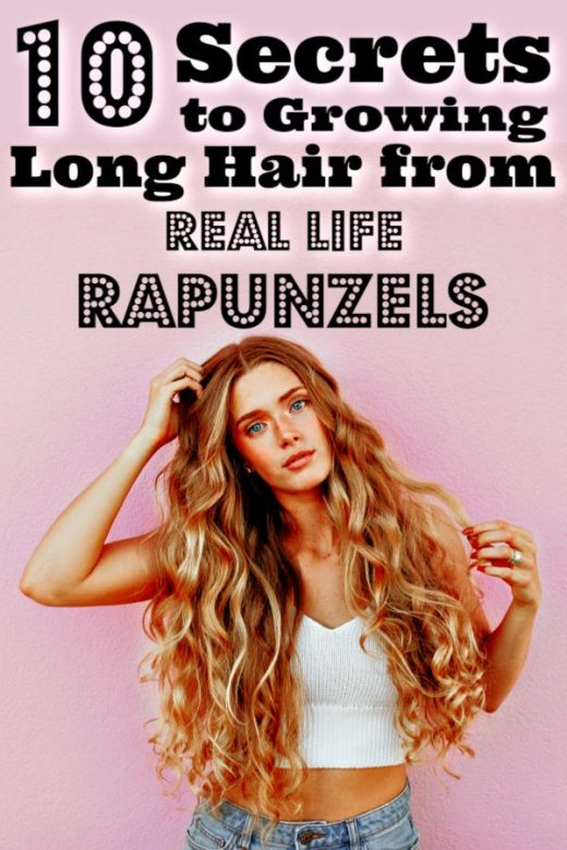 10 Secrets To Growing Long Hair From Real Life Rapunzels
