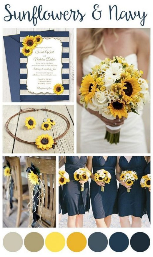 99 Great Roses And Sunflowers for Wedding