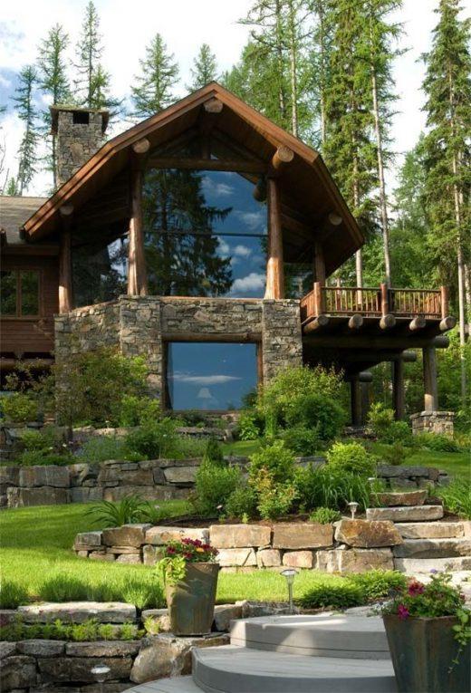 Best Log Home Window Design: Artiste