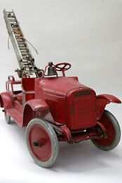 Buddy L fire truck…circa 1926. Learn about your collectibles, antiques, valuab…