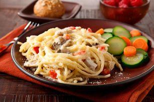 Made-Over Chicken Tetrazzini recipe