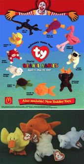 old school happy meal toys to remember