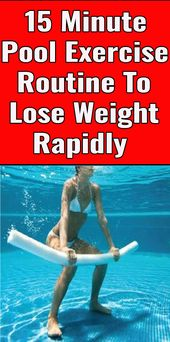 15 Minute Pool Exercises That Burn Fat Fast