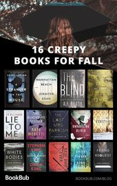 16 Creepy Books to Read with Your Book Club This Fall