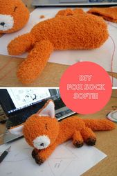 25 Easy DIY Sock Plushies and Animals You'll Want to Make this Weekend