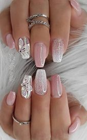 35+ Best and Playful Glitter Nails Design Ideas in This Week – Page 4 of 35