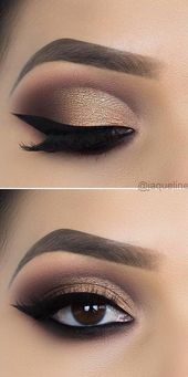 43 Great Chic and GLAMOUR EYE Makeup Seems Suggestions and Photos for 2019