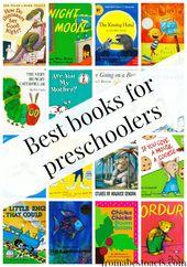 Best Books for Preschoolers – Our Top 20 Picks | From ABCs to ACTs