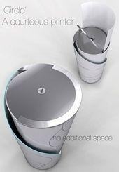 Circle Concept Printer – Gadgets