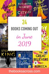 June 2019 Book Releases for Your Summer Readings