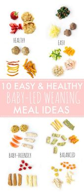 Looking for some easy and healthy meal ideas for baby-led weaning or finger food…
