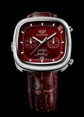 TAG Heuer Silverstone. Red Limited Edition 1 of 1 with Jack Heuer's signatur…