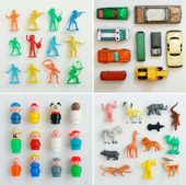 Vintage Toy Collection Photo Prints