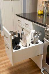 15+ Fascinating Hidden Storage Ideas For Best Kitchen Design Ideas