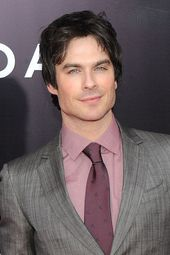 They have the power to change your face, don't they, Ian Somerhalder?