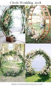 20+ WEDDING TRENDS WHITE AND GREENERY WEDDING IDEAS – Forevermorebling   Wedding Blog