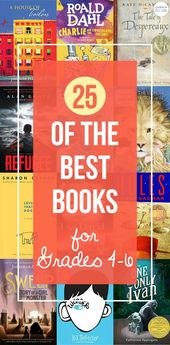 25 Must Read Books for Grades 4-6 | My Favorite Books
