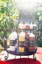 30 Rustic BBQ Wedding Ideas [Best For Backyard Wedding Reception]