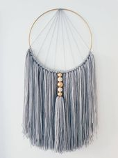 34 of The Best Macrame Hanging & Textile Art Ideas on Any Budget  | Arts and Classy