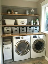 35+ Stunning Rustic Functional Laundry Room Ideas Best For Farmhouse Home Design
