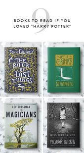 9 Books to Read If You Loved 'Harry Potter'