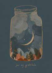 A little 'jar of gratitude' for all of you who are supporting independent artist