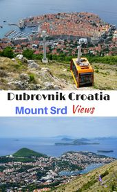 A visit to Dubrovnik Croatia should include a trip to the top of Mt Srd for some…
