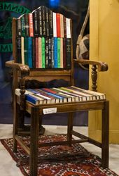 Awesome Bookish Chairs
