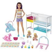 Barbie Skipper Babysitters Inc. Nap 'n Nurture Nursery Dolls Playset – Walmart.com