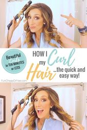 How To Curl Your Hair With A Curling Iron – Fun Cheap or Free
