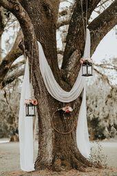 Lush Rustic Jensen Beach Wedding at The Mansion at Tuckahoe | Junebug Weddings