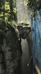 Maligne Canyon in Jasper, Canada