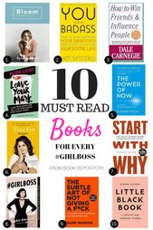 Must read books for Every Girl Boss – Danielle Vella – Melbourne Lifestyle and Beauty Blogger