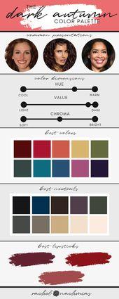 The Dark Autumn Color Palette — Philadelphia's #1 Image Consultant | Best Dressed