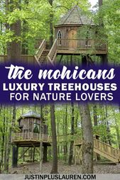 The Mohicans: Luxury Treehouses in Ohio for an Extraordinary Getaway in the Woods