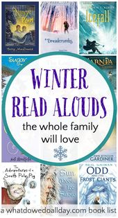 16 Wonderful Winter Chapter Books to Read Aloud